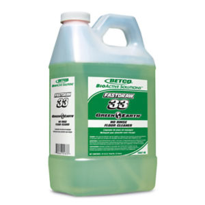 BETCO FASTDRAW 33 BIO-ACTIVE SOLUTIONS NO RINSE SURFACE CLEANER - 2L, (4/case) - F4322