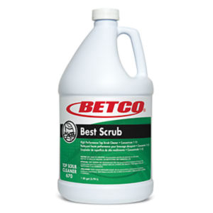 BETCO BEST SCRUB HIGH PERFORMANCE FLOOR CLEANER - 4L, (4/case) - F4326