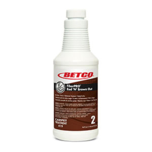 BETCO FIBERPRO RED 'N' BROWN OUT RUST REMOVER - 473mL, (12/case) - F4412