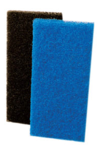 CHECKERS BLUE UTILITY PADS - MEDIUM (5/pack, 4packs/case) - F5102