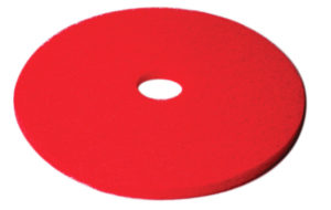 "CHECKERS 17"" RED FLOOR PAD (5/case) - F5205"