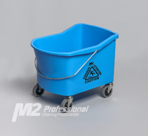GRIZZLY 32qt BUCKET (ONLY) w/ CASTERS - Blue - F5302