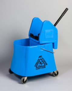 ELEPHANT 40qt DOWNPRESS WRINGER & BUCKET COMBO - Blue - F5315