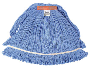 SWINGER BLUE LOOPED END NB MOP HEAD - Medium (12/case) - F5333