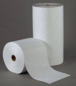 "30"" x 150' WHITE BONDED ABSORBENT ROLL, HEAVY WT - 1/cs - F5637"