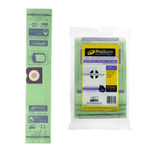 PROTEAM INTERCEPT MICRO FILTER VAC BAGS for PROGUARD 4 VACUUM, 3/package - F5702-17