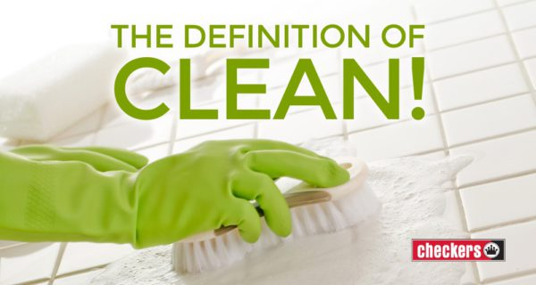 article definition of clean