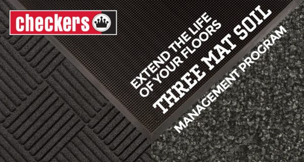 Checkers mat soil