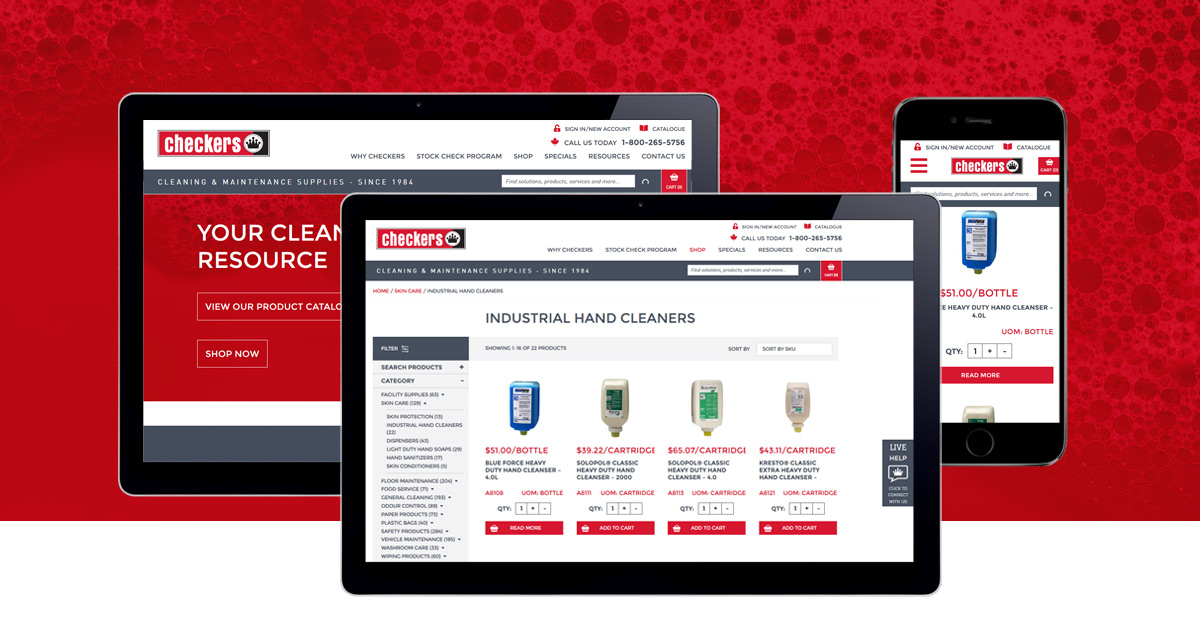 New Site Launch Design